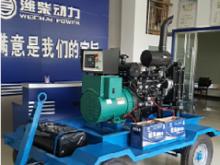 潍柴动力移动拖车式发电机组