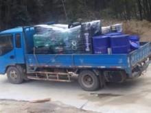 5台潍柴w88优德中文版专车送货