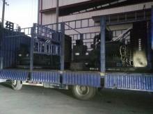 福湘发电设备有限公司2台600KW上柴股份动力配套道依茨发电机出发用户现场