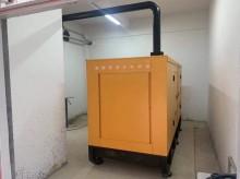 湖南福湘发电设备有限公司:低噪音发电机组安装完毕交付用户