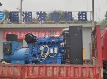 湖南福湘发电设备公司:300KW玉柴机器配套道依茨发电机交付用户