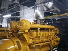 航天福湘-应客户邀请对其机房的卡特原装进口发电机组进行常规保养维护