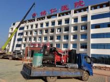 航天福湘牌-玉柴机器动力发电机组配套道依茨发电机交付用户