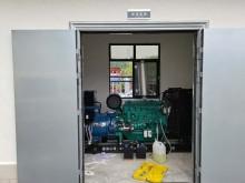 2台航天福湘牌-120/150KW潍柴动力机组配套康富三波电机交付用户