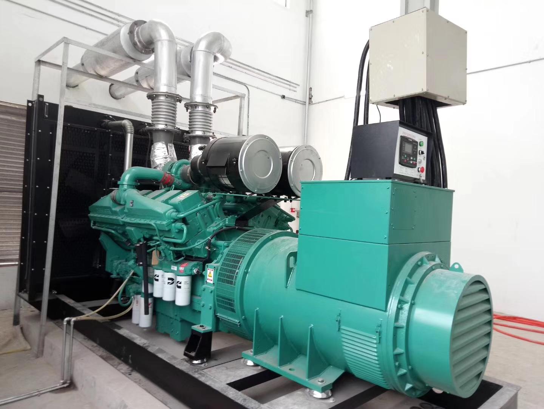 1200KW福湘牌康明斯动力+广州道依茨发电机交付用户,验收一次合格。
