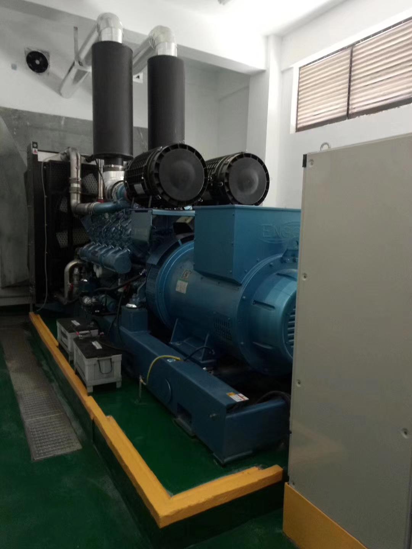 福湘1000KW潍柴w88优德中文版安装完毕交付用户使用。
