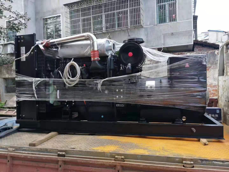 福湘上柴动力配套广州道依茨发电机交付用户