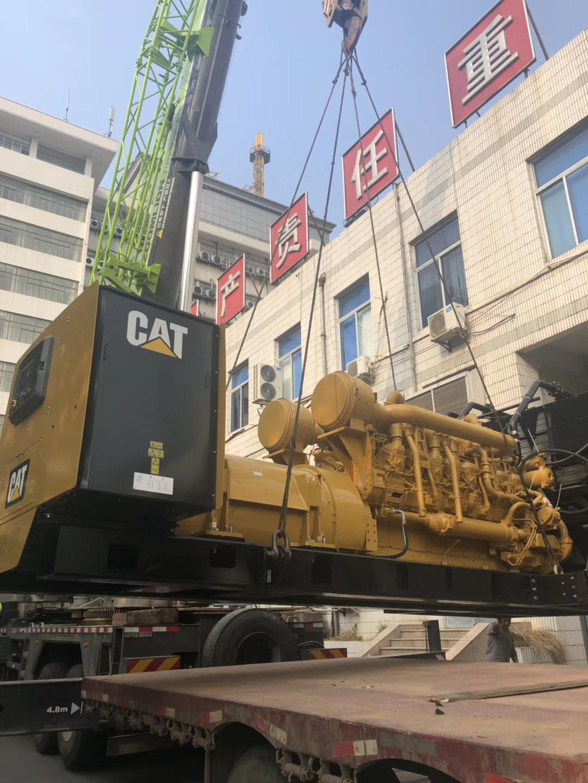 福湘公司原装美国卡特1600KWw88优德中文版,安装现场