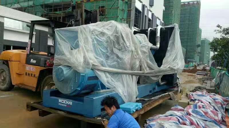 福湘发电设备有限公司800kw潍柴博杜安原装w88优德中文版交付用户