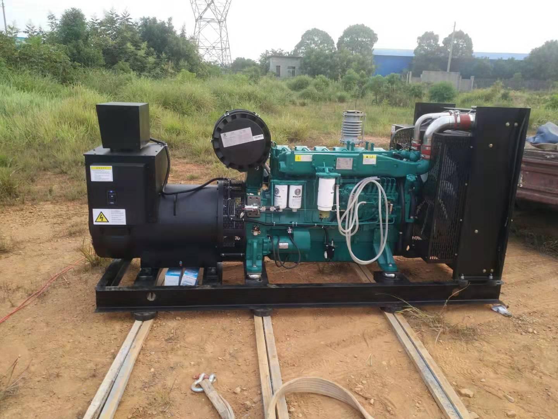 福湘发电设备有限公司250KW潍柴动力w88优德中文版交付用户
