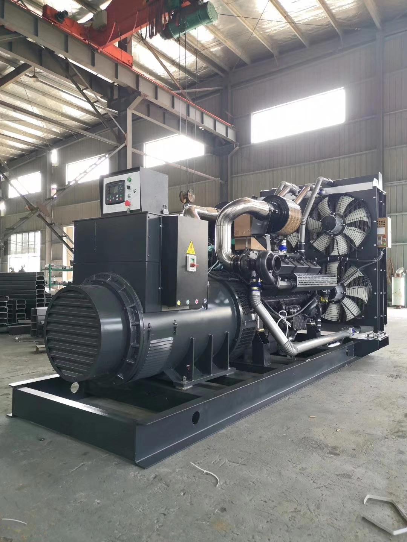 福湘发电设备公司1000KW凯普动力发电机组生产完毕准备交货