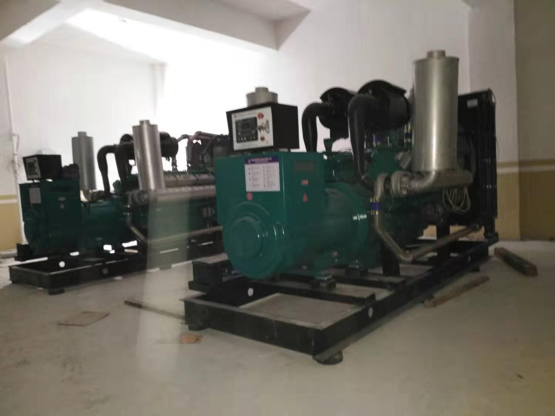 湖南福湘发电设备有限公司:航天福湘牌两套500KW福湘发电机组交付用户