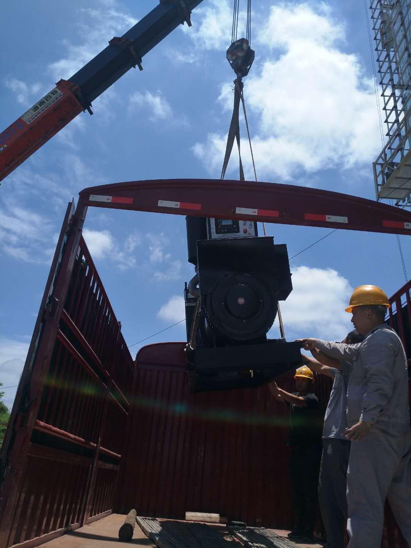 航天福湘-潍坊船电动力配套道依茨发电机交付用户